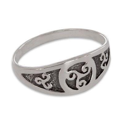 Triskele Ring 925 Silber Gr. 61