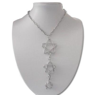 Pentagramm Collier