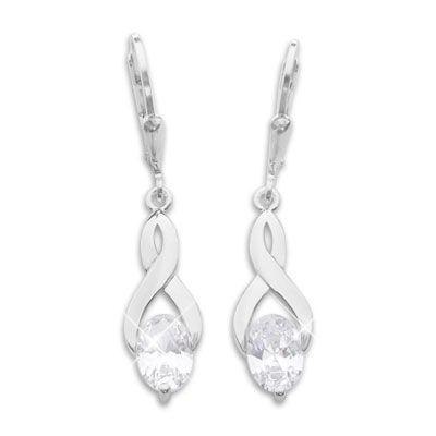 Ohrringe für Damen mit Zirkonia 925 Silber
