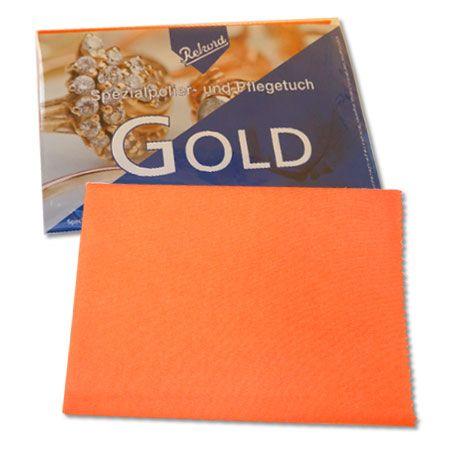 Goldputztuch Goldpflegetuch