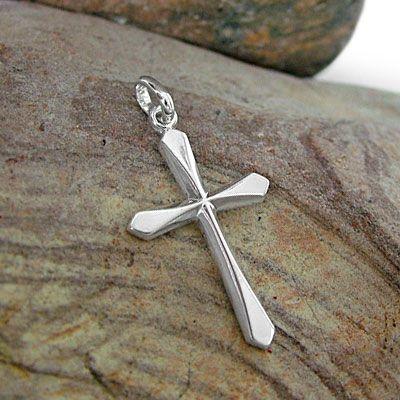 Kreuz Anhänger 925 Silber