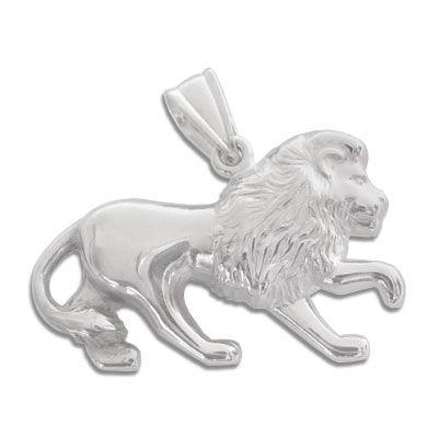 Löwen Anhänger 925 Silber