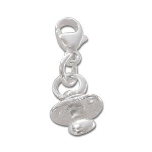 Charm Anhänger Schnuller 925 Silber