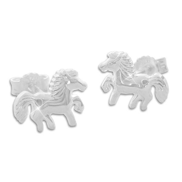 Pferde Ohrringe Schmuck Ohrstecker 925 Silber