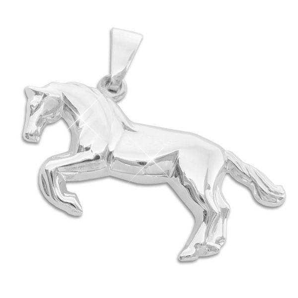 Anhänger springendes Pferd 925 Silber