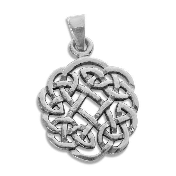 Anhänger mit keltischem Flechtwerk 925 Silber