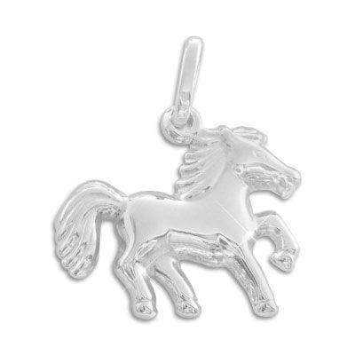Anhänger mit Pferd 925 Silber