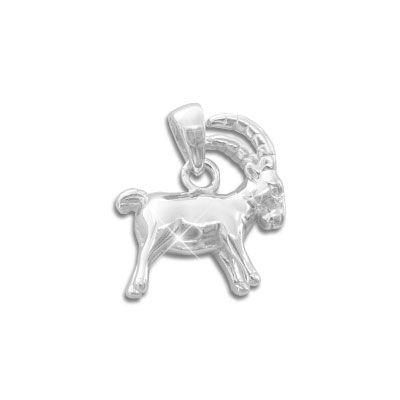 Sternzeichen Anhänger Steinbock 925 Silber