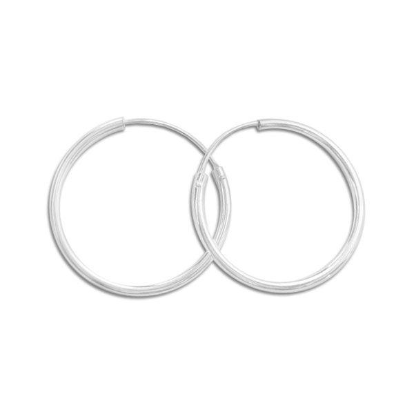 Creolen 925 Silber 25 mm