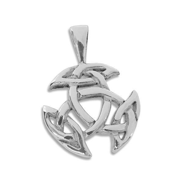 Tribal-Knoten Anhänger keltisch 925 Silber