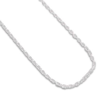Kette für Kinder Anker-Design 925 Silber 1 mm 38 cm