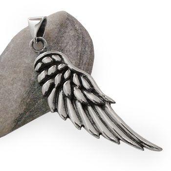 Engelsflügel Anhänger 925 Silber