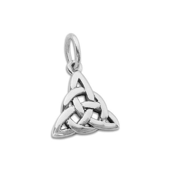 Triquetra Knoten Anhänger 925 Silber