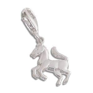 Charm Anhänger Pferd 925 Silber
