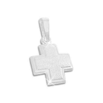 Design Kreuz Anhänger 925 Silber