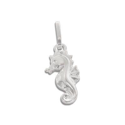 Seepferdchen Silberanhänger 925 Silber Geschenk für Kinder und Damen