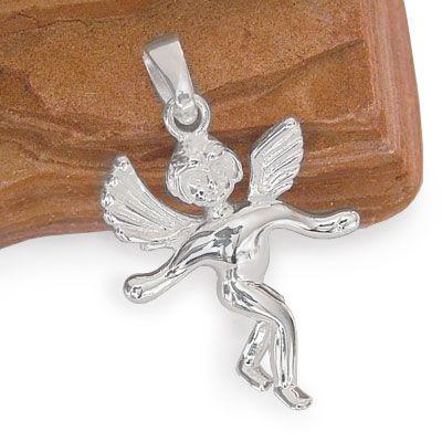 Engel Anhänger 25 mm 925 Silber