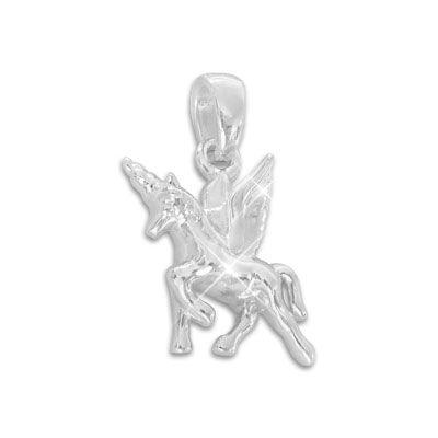 Anhänger Einhorn mit Flügeln 925 Silber