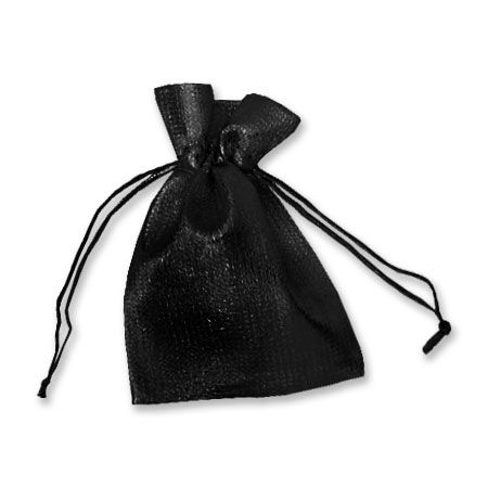Schmuck-Säckchen Beutel schwarz