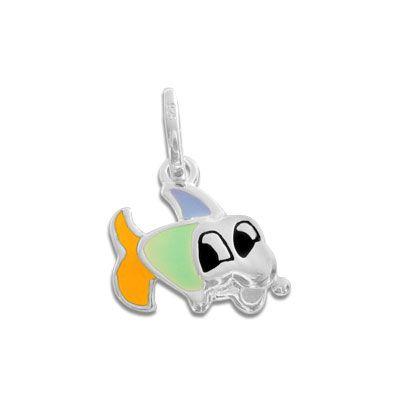 Sternzeichen Anhänger Fische für Kinder 925 Silber Kindersternzeichen