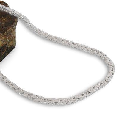 Königskette 925 Silber 3 mm 60 cm