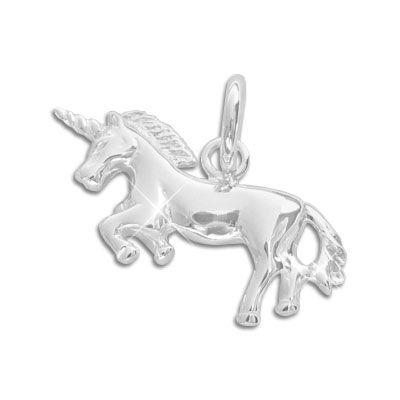 Einhorn Anhänger 925 Silber