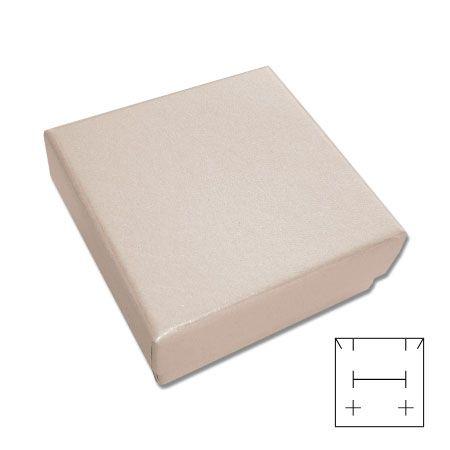 Schmuck-Verpackung beige