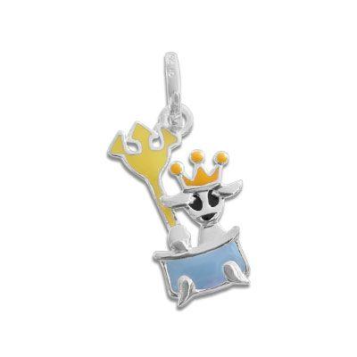 Sternzeichen Wassermann für Kinder 925 Silber