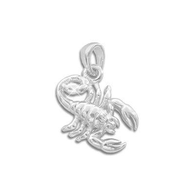 Sternzeichen Anhänger Skorpion 925 Silber