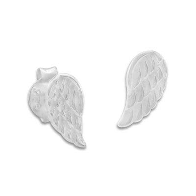 Flügel Ohrringe Ohrstecker 925 Silber Engelsflügel